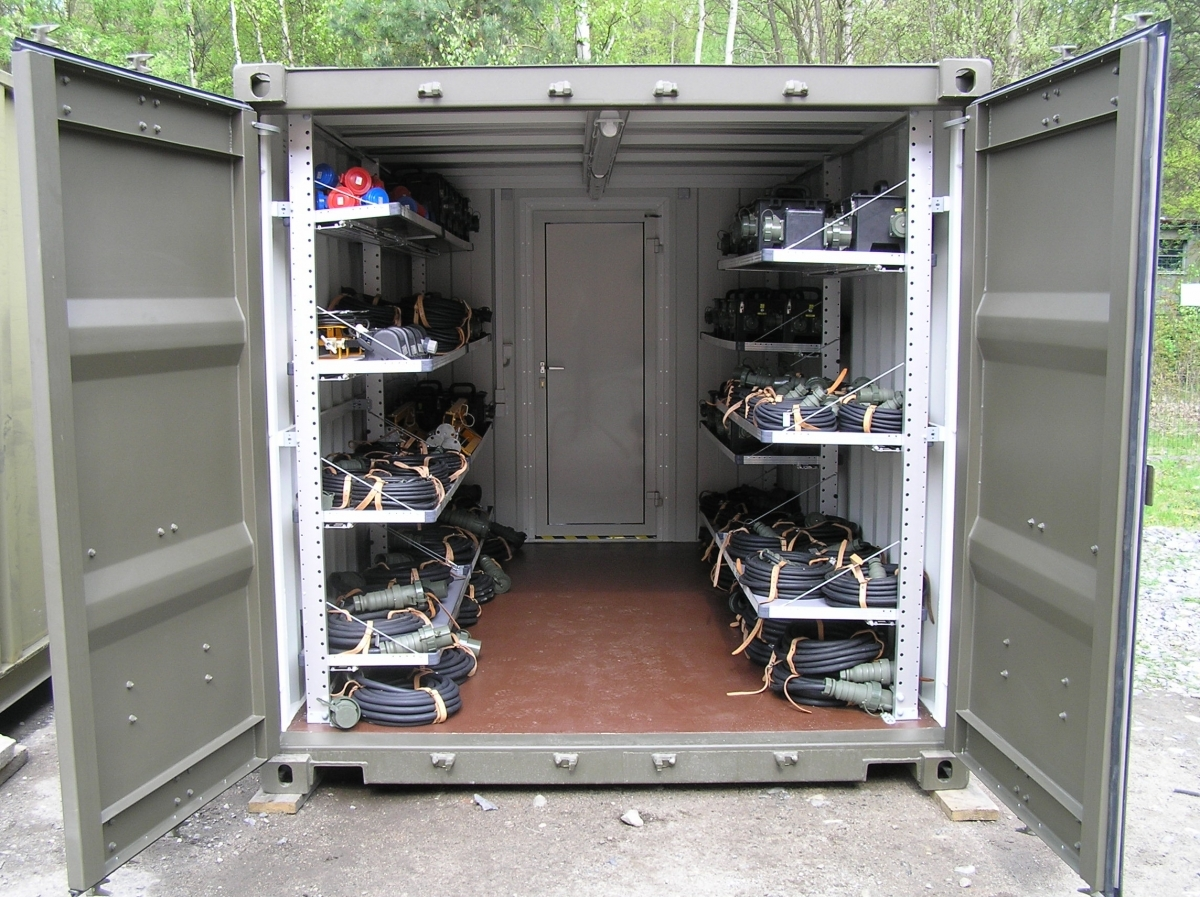 Shipping Container For Storage In Modified Container For Office Accommodation Ablution Portacamp - Container House Design